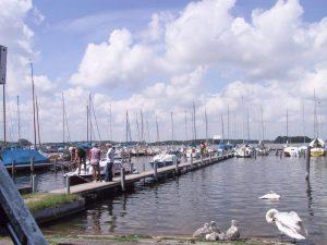 Die Umgebung, Seglerhafen in Rechlin